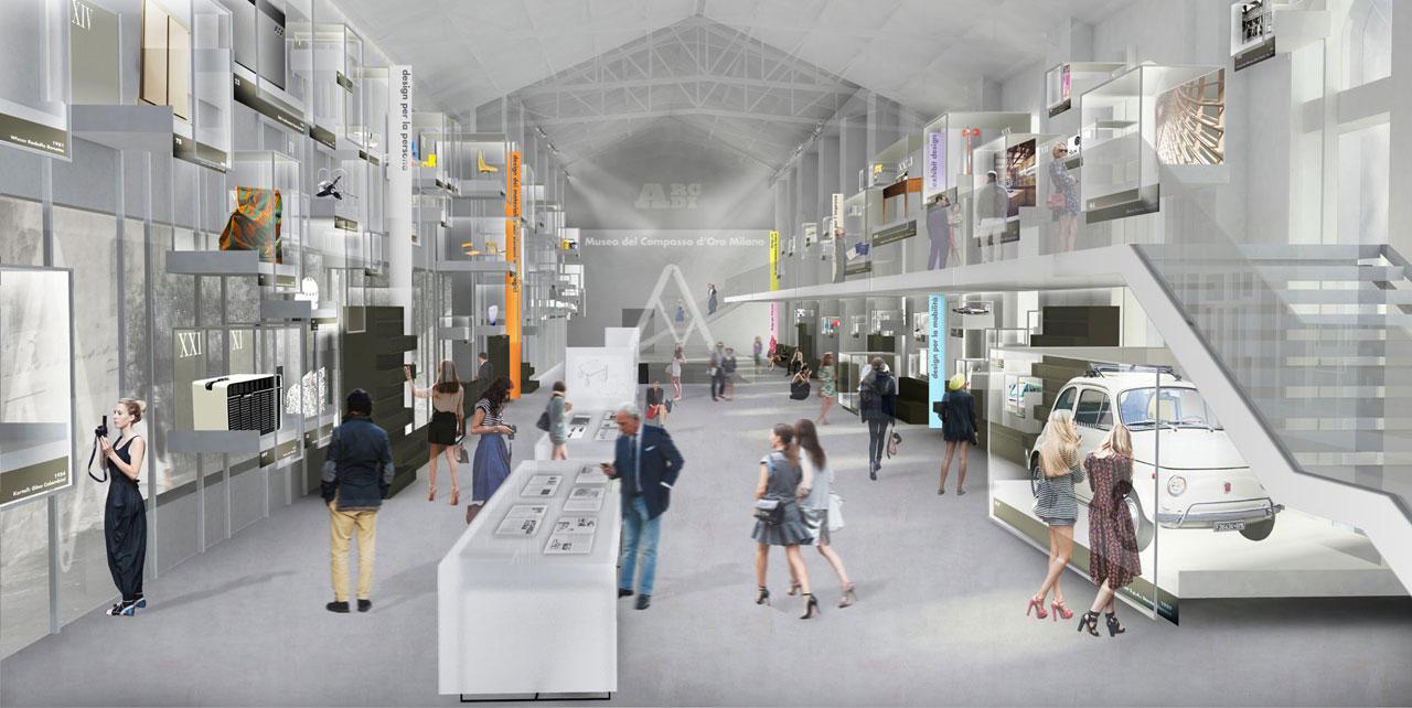 Progetto Lupi Nuova Sede ADI a Milano