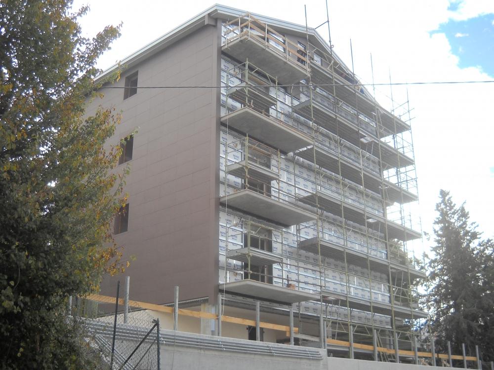 Isotec parete per un nuovo edificio a campobasso arketipo