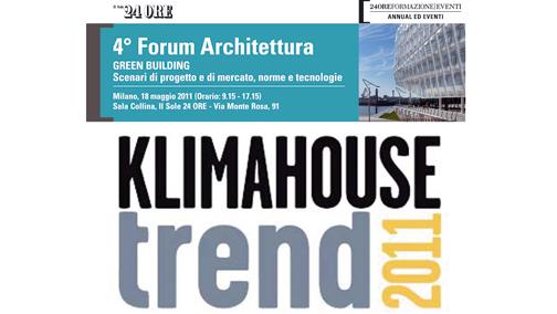 4 forum arch Klimahouse Trent 2011