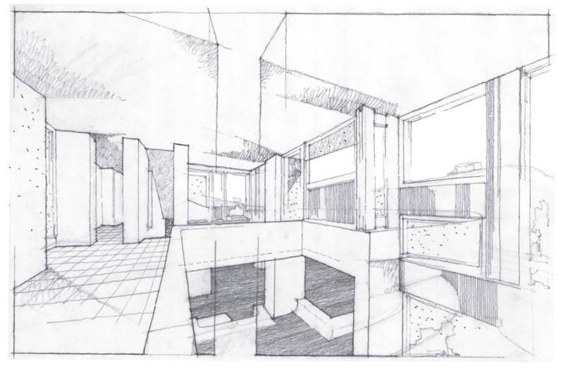 Paolo angeletti disegni di architettura arketipo for Case fatte da architetti