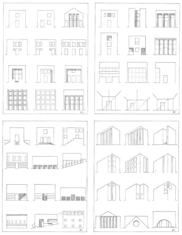 Paolo angeletti disegni di architettura arketipo for Studi di architettura roma