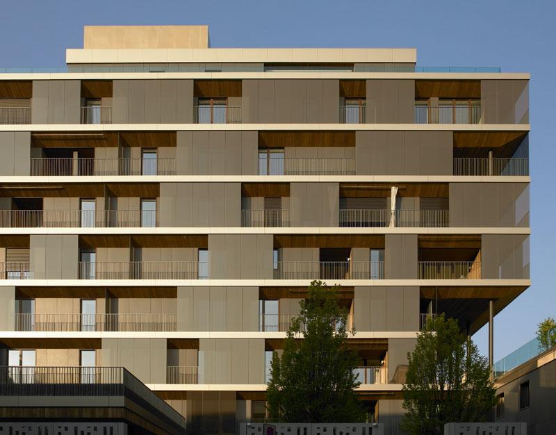 Residenza plurifamiliare a milano antonio citterio for Progettazione di edifici residenziali