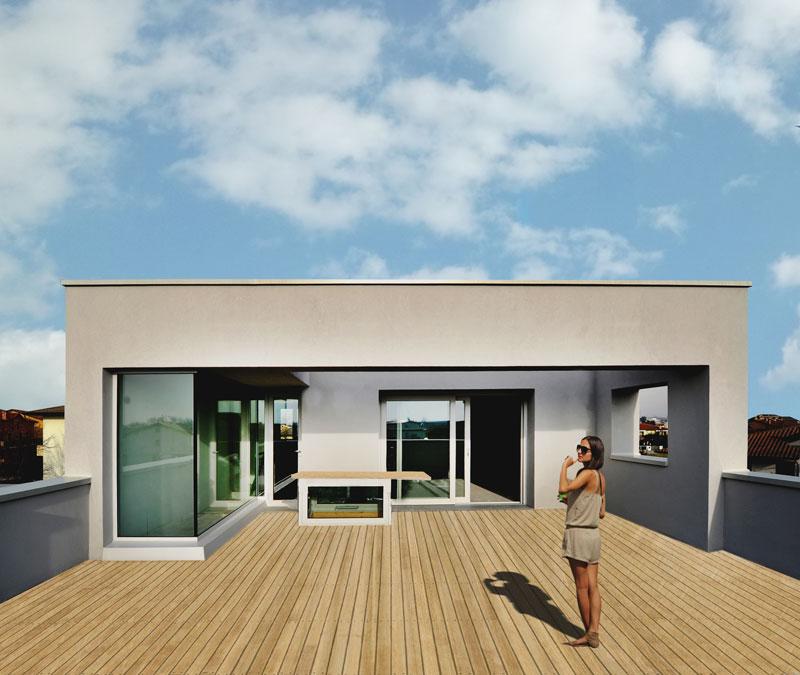Casa unifamiliare a limena michele gambato arketipo - Isolare parete interna a nord ...