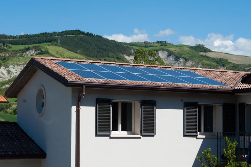 Residenza la piana focus domotica arketipo - Casa ecologica autosufficiente ...