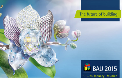 BAU 2015: events, services and information for architects