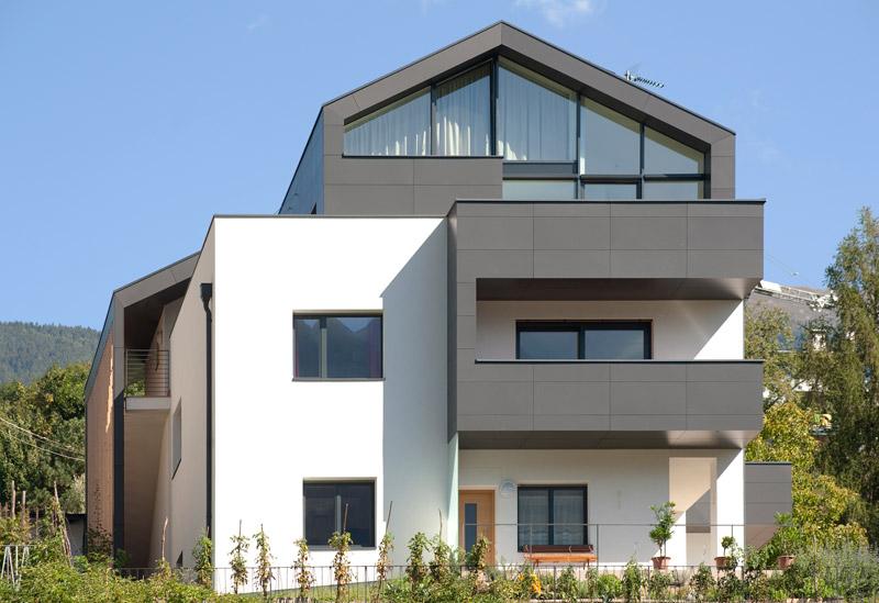 Residenza casaclima a a bressanone dellago architekten - Foto di case moderne esterni ...