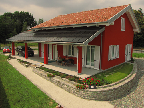 Clivet per una casa passiva attiva a chiavazza arketipo for Progetti case singole