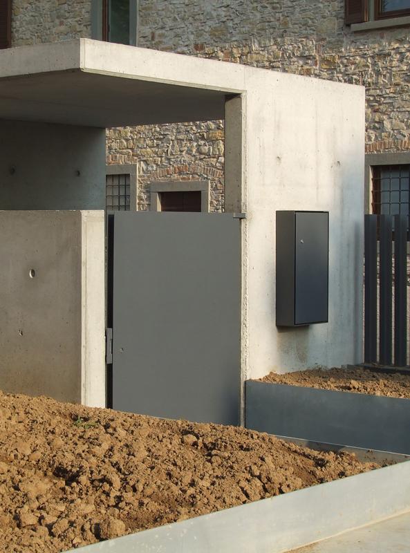 Cemento facciavista per le torri arketipo for Ingressi di design