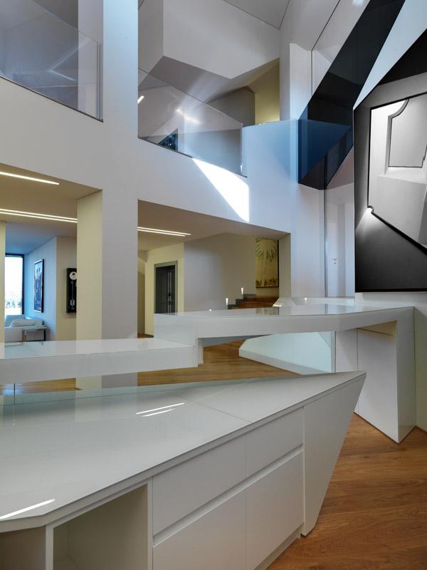 Oficina vidre negre damilanostudioarchitects arketipo for Sereno arredamenti