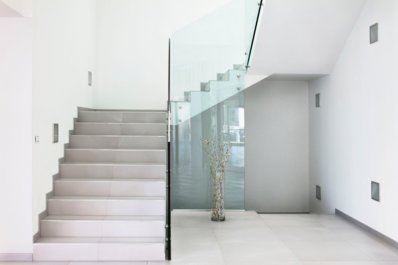 Scale in muratura per interni scala colori pittura pareti pitture decorative per interni colori - Progetto scale interne ...