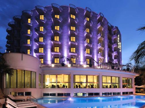 Fassa per l 39 hotel lido arketipo for Boutique hotel am meer