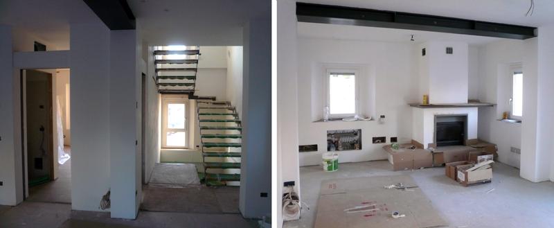Ristrutturazione energetica di un edificio residenziale a ferrara focus green arketipo - Apertura porta su muro portante ...