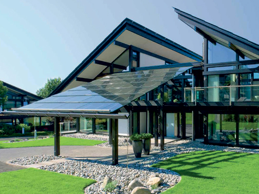 Casa Prefabbricata Design : Huf haus presenta la casa prefabbricata art 3 green [r]evolution
