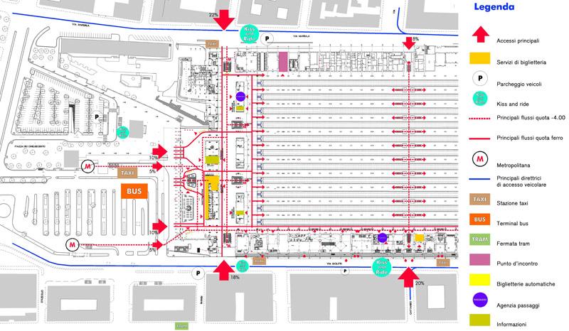 Cartina Roma Termini.Stazione Centrale Milano Mappa Binari Switzerland Hotel Ideas