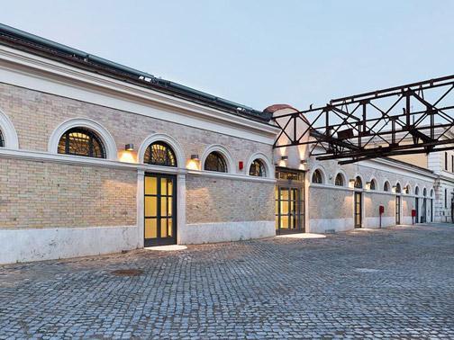 Riconversione dell 39 ex mattatoio di roma insula for Architettura e design roma