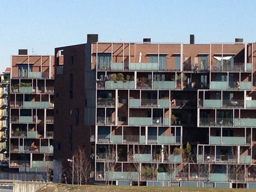 Aligned residences nuovo portello cino zucchi for Viale serra milano