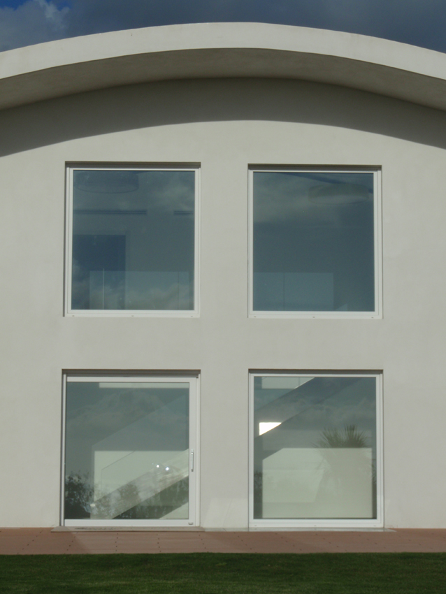 Oknoplast per villa taurinus a napoli arketipo - Condensa vetri finestra ...