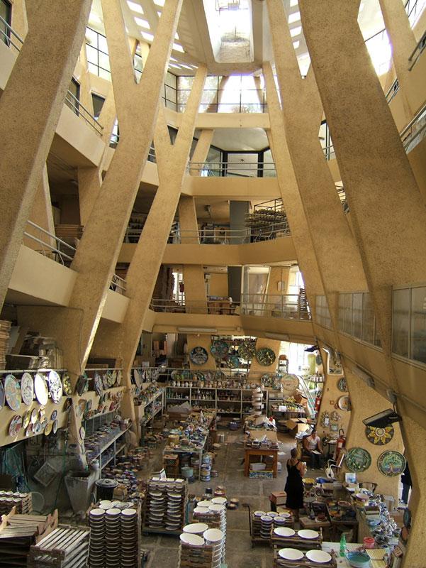 Image result for Solimene Ceramic Factory) Paolo Soleri