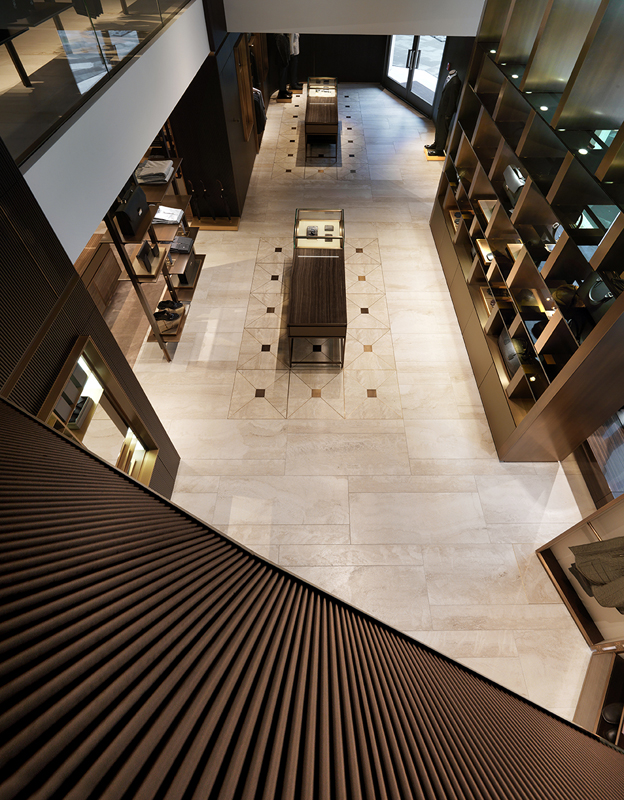The new flagship store of Brioni has opened in Frankfurt