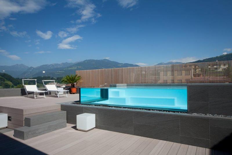 Profondit piscina privata semplice e comfort in una - Quanto costa costruire una piscina ...