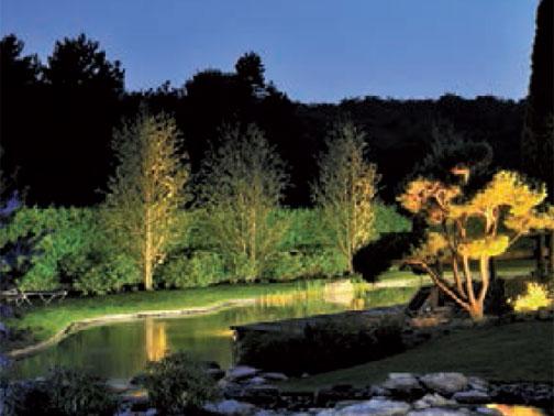 Come illuminare spa giardini ed edifici storici arketipo