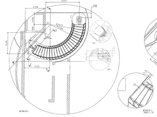Simple le e le prestazioni meccaniche delle scale siano - Larghezza scala interna ...
