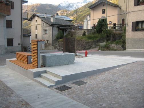 Arredo urbano a pianazzo simone cola arketipo for Un arredo urbano
