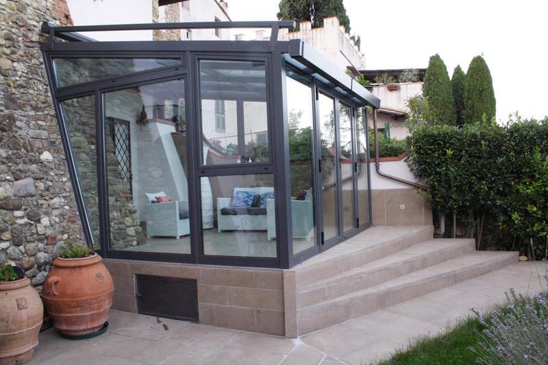 Pannello Solare Per Serra : Serra solare in toscana studio moraldi arketipo