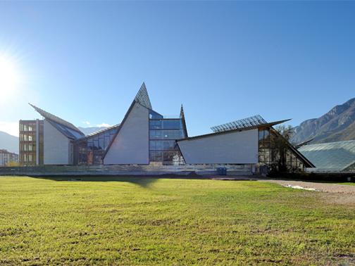 Il muse di trento renzo piano building workshop arketipo for Piccoli piani chiave della casa ovest