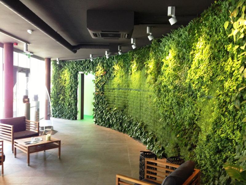 Sundar presenta i giardini verticali e i quadri vegetali arketipo - Giardino verticale interno ...