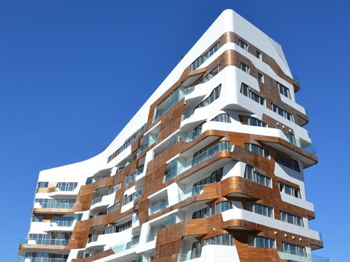 Residenze zaha hadid citylife milano focus facciate for Zaha hadid city life