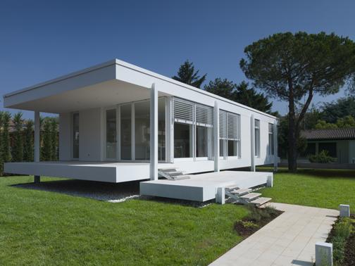 Abitazione in classe a a verona michele perlini arketipo for Case da architetto