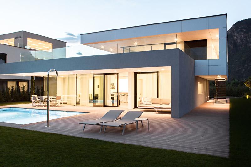 Casa m2 a bolzano monovolume architecture design for Casa design bolzano