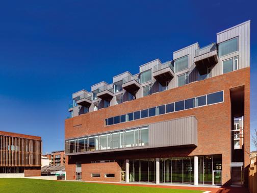 Complesso multifunzionale donnelly turpin architects for Casa vittoriana in mattoni