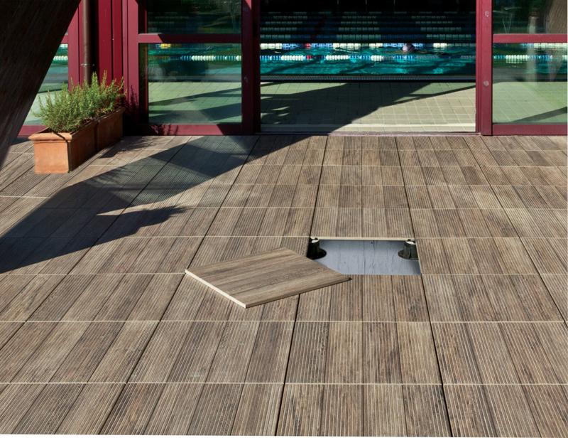 Senza collanti ne adesivi arketipo - Rivestimenti per terrazzi esterni ...