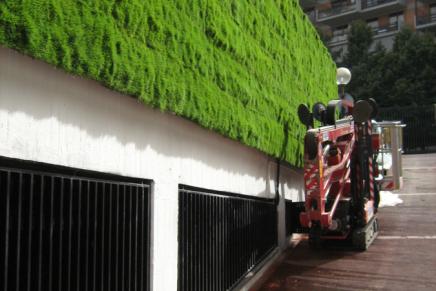 Verde Profilo per la sede centrale di Groupama ...