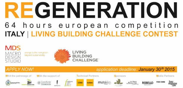 REGENERATION, concorso di architettura basato sulla certificazione LBC