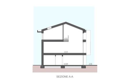 Casa ross a treviglio margstudio studio pagetti rota for Disegni di casa piano aperto