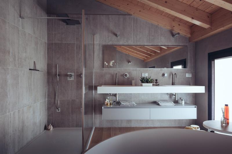 Casa ross a treviglio margstudio studio pagetti rota - Bagno in camera ...