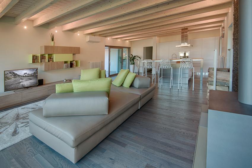 Favorito Ampliamento in legno sul tetto a Revine Lago - Daniele Menichini  RB14