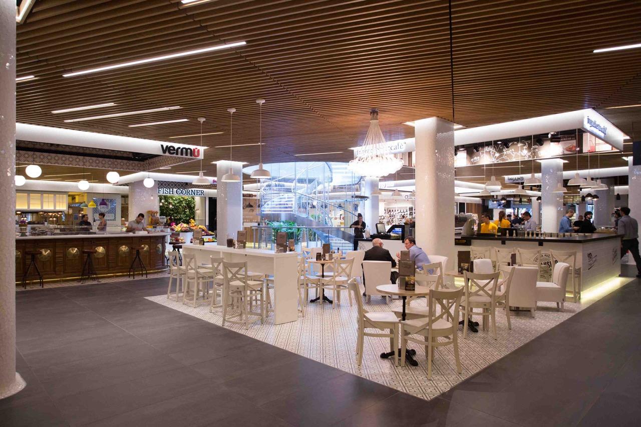 El mercat de gl ries barcelona l35 arquitectos arketipo - El mercat de les glories ...