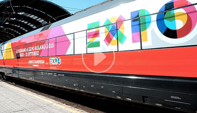 La stazione dell esposizione universale rho fiera expo for Esposizione universale expo milano 2015