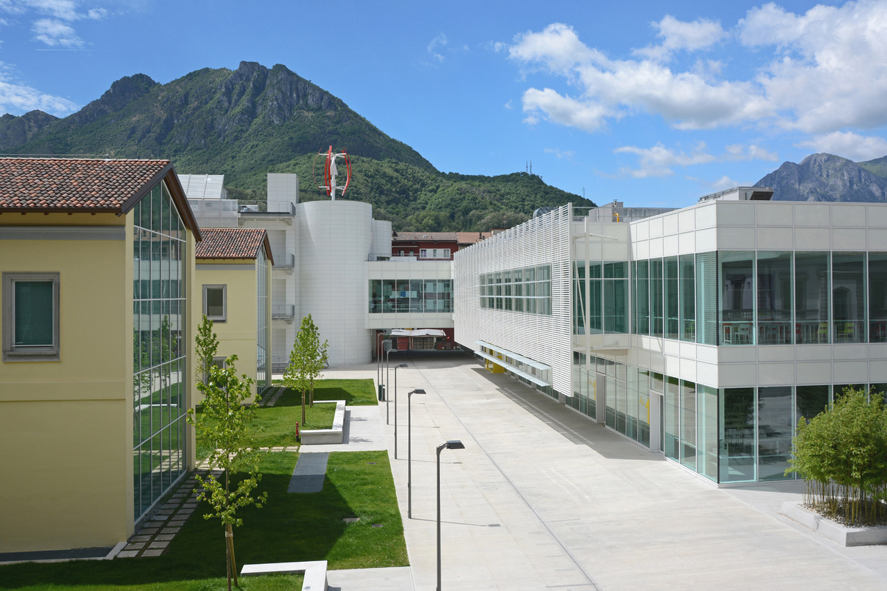 Nuovo campus universitario del politecnico di lecco for Architettura politecnico di milano