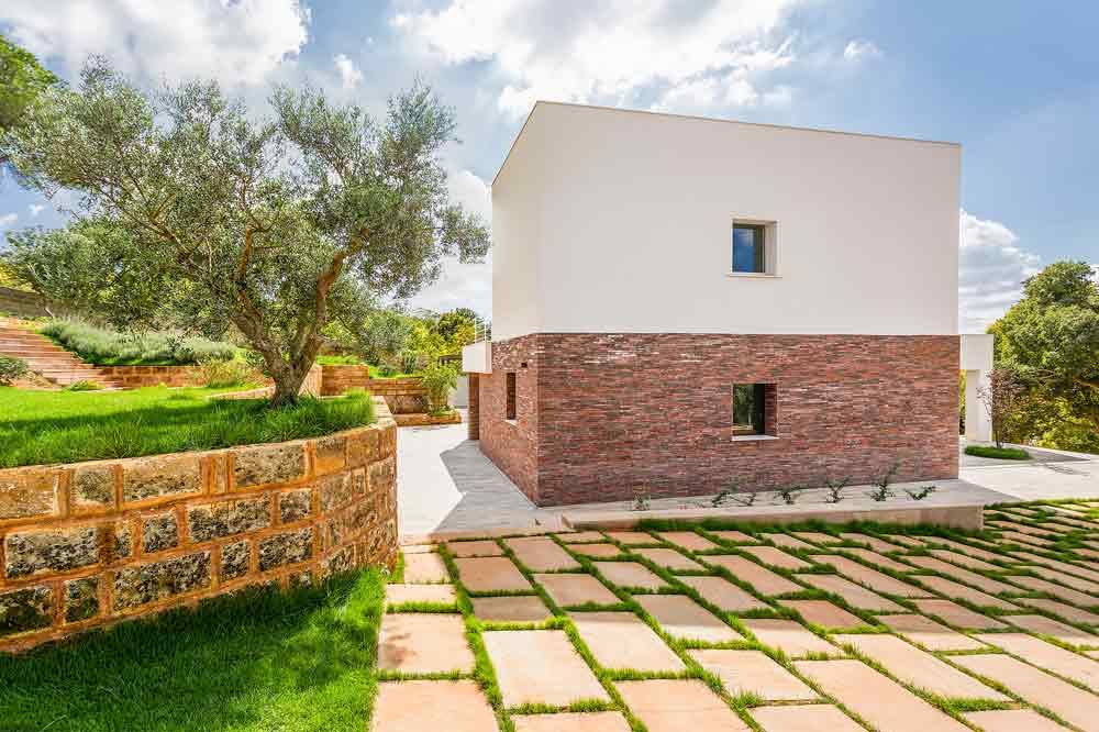 Casa in pietra in sicilia studio 4e arketipo for Ville lussuose interni