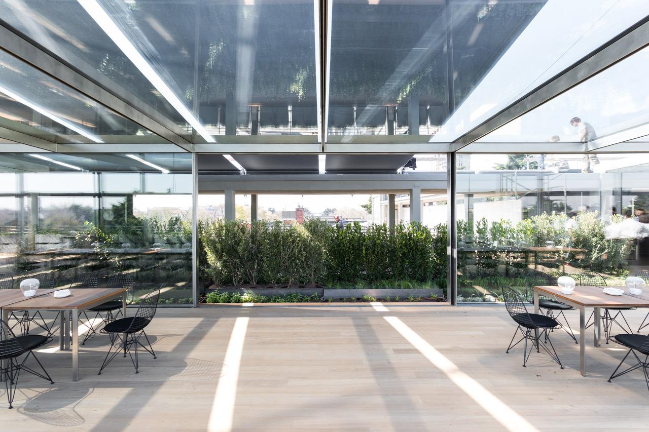 Terrazza triennale restauro e nuovo ristorante arketipo for Triennale a milano