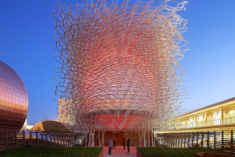 Padiglione uk a expo 2015 wolfgang buttress arketipo for Nuova architettura in inghilterra