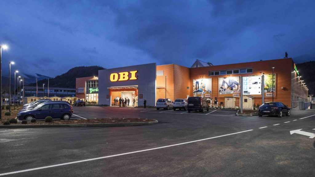 Il nuovo punto vendita OBI di Brunico
