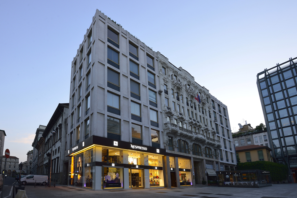Flagship Store Nespresso a Milano - P+F Architetti | Arketipo