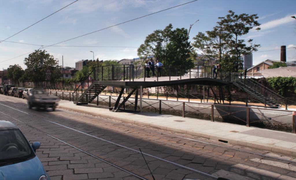 Ponte ciclopedonale by Lombardini 22 (Milano)
