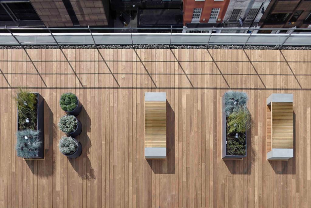Terrazza dell'edificio 200 Gray's Inn Road - Londra